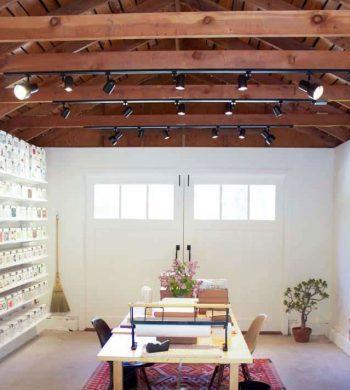 garage craft room feature