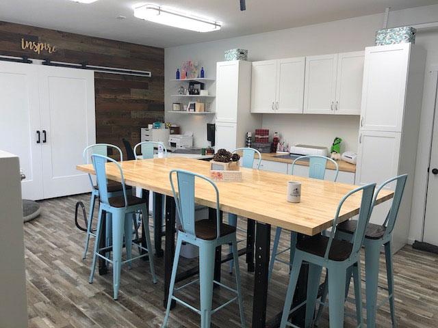 garage craft room