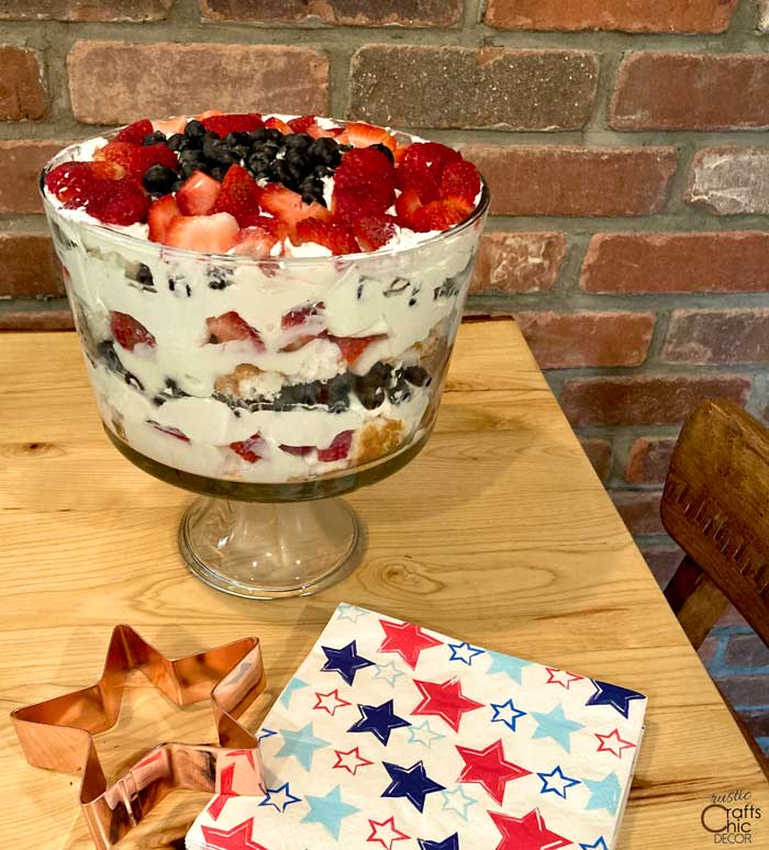 4th of july torte