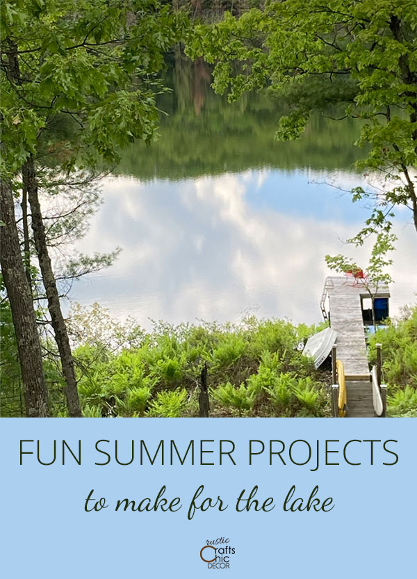fun summer projects for the lake