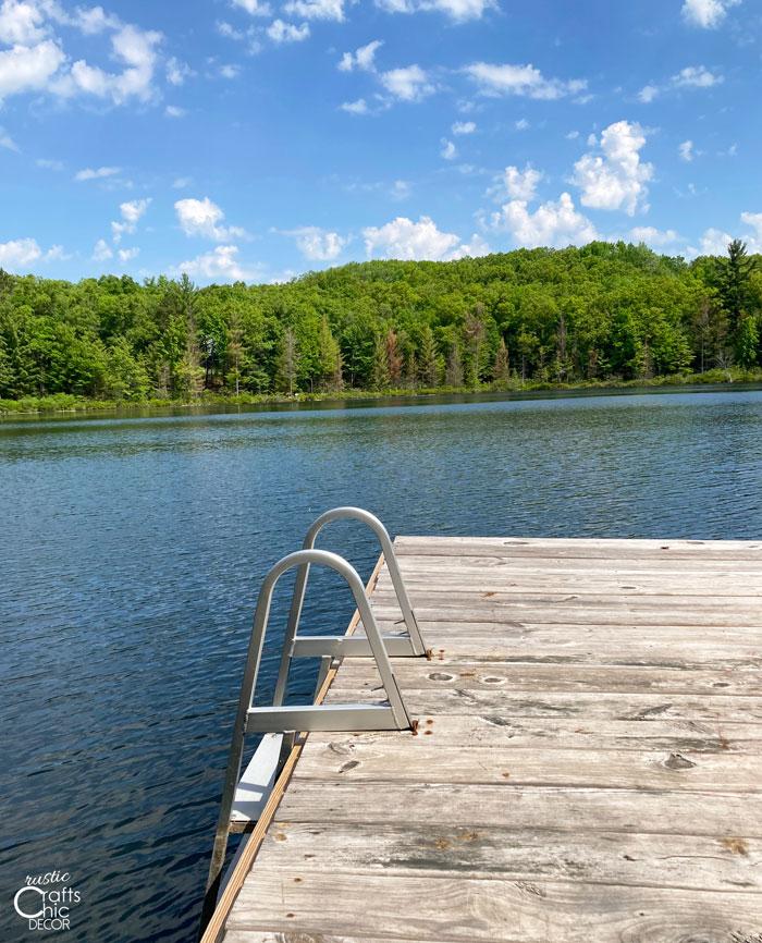 lake dock diy