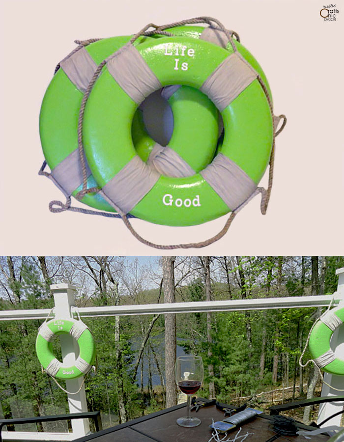 life ring makeover