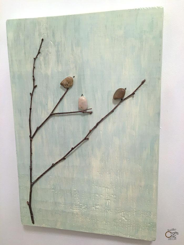 pebble art nature craft