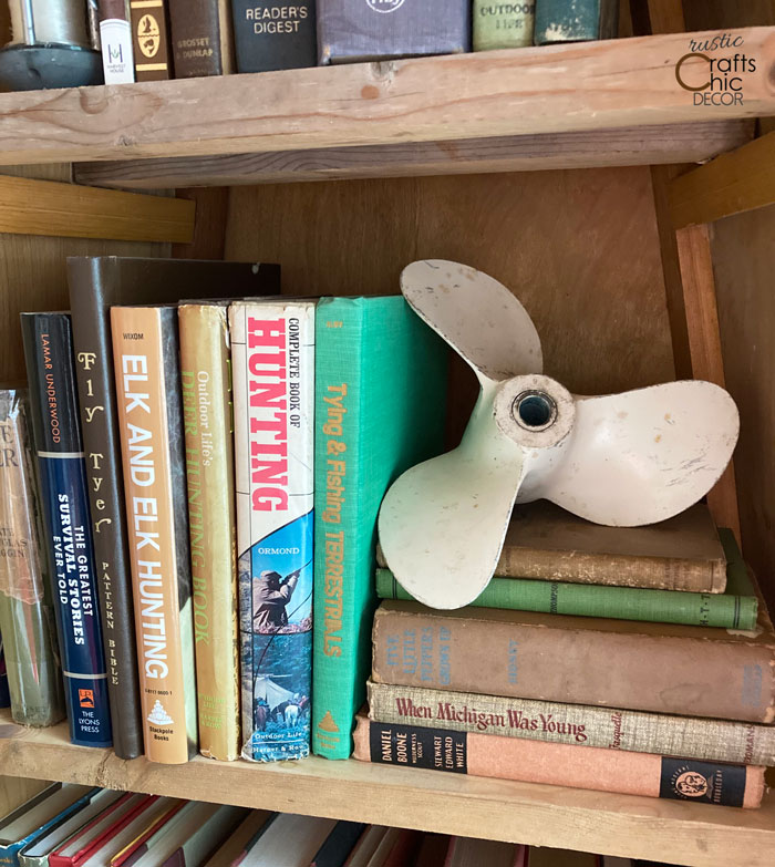 propellor bookend