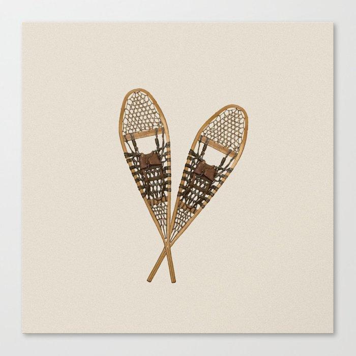 snowshoes canvas