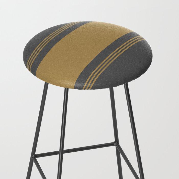 yellow and gray bar stool