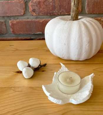 fall clay projects