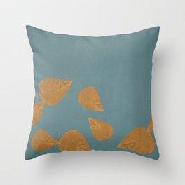 falling leaves pillow