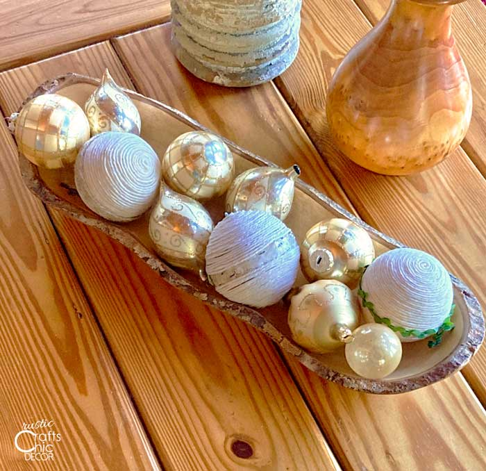 ball ornament bowl fillers