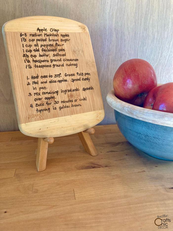 recipe keepsake