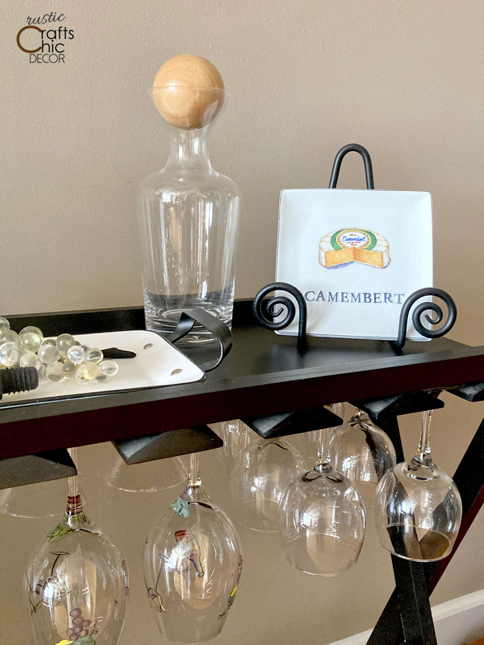 wine carafe topper ball