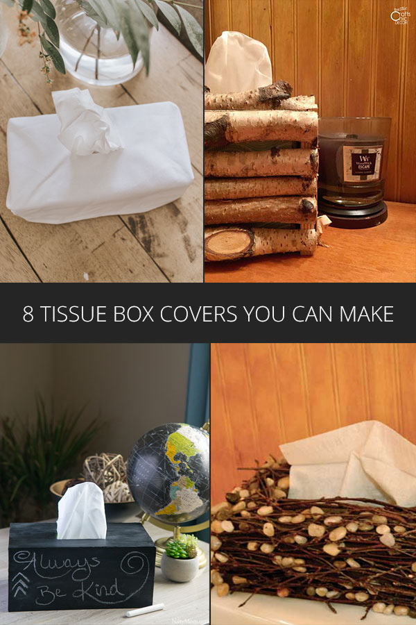 diy tissue box covers