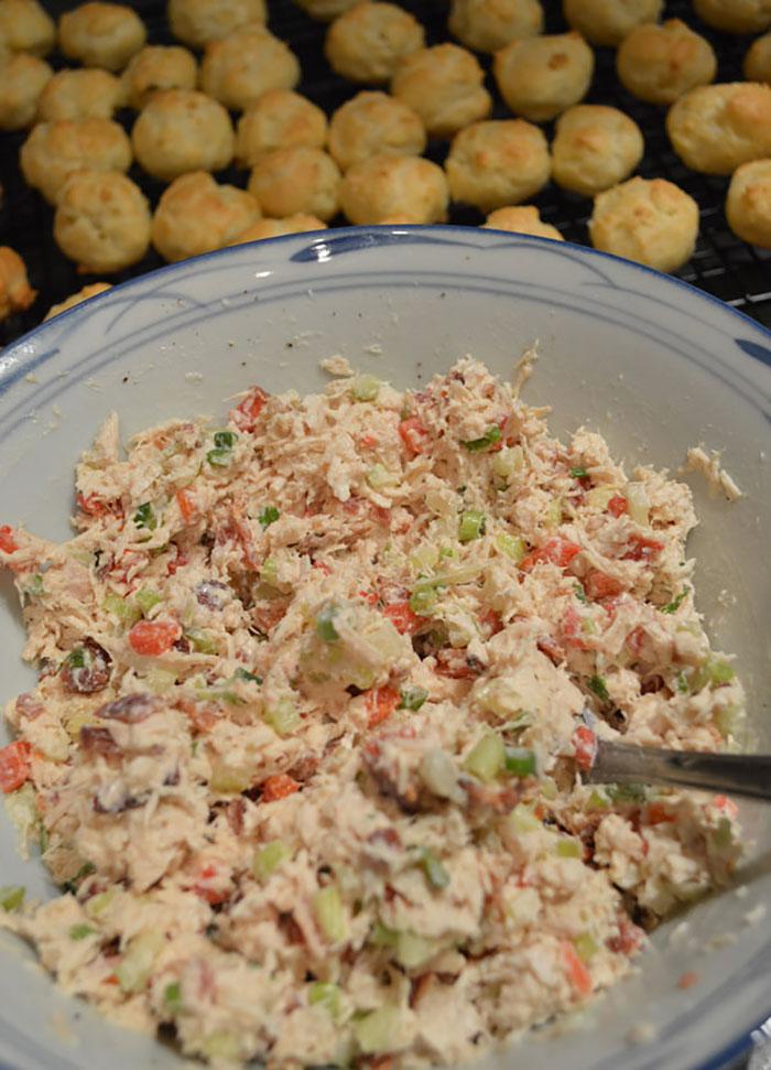chicken puff filling ingredients