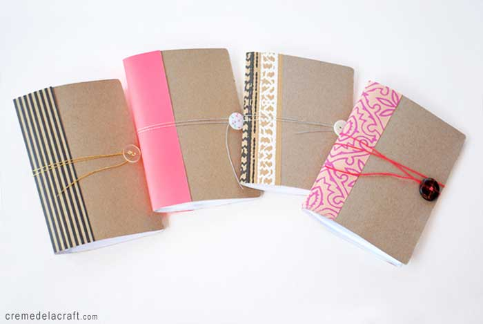 mini cereal box notebook